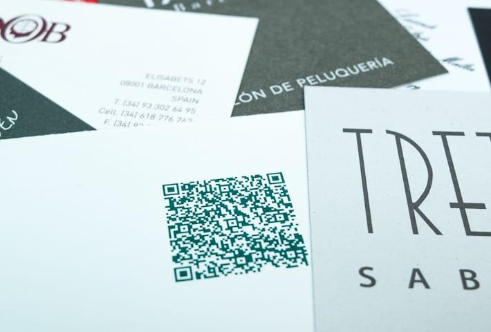 ©Tormiq imprenta Barcelona Offset i Digital, tarjetas