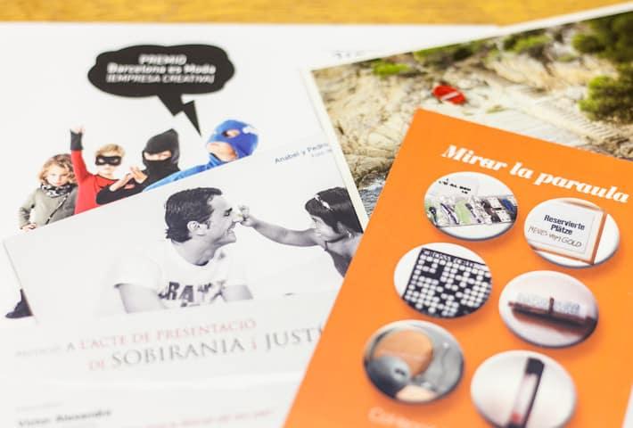 ©Tormiq imprenta Barcelona, flyers
