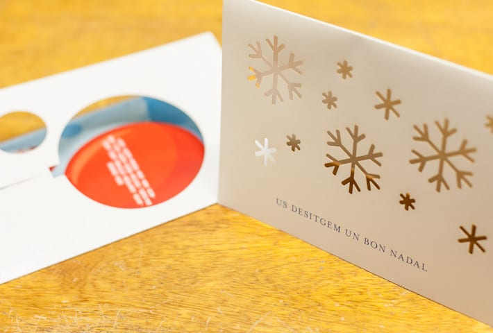 ©Tormiq imprenta Barcelona, diptics, nadales, christma