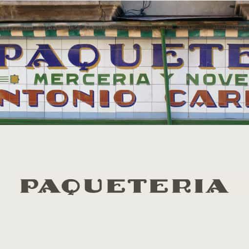 Paqueteria - letras recuperadas - Juan Nava
