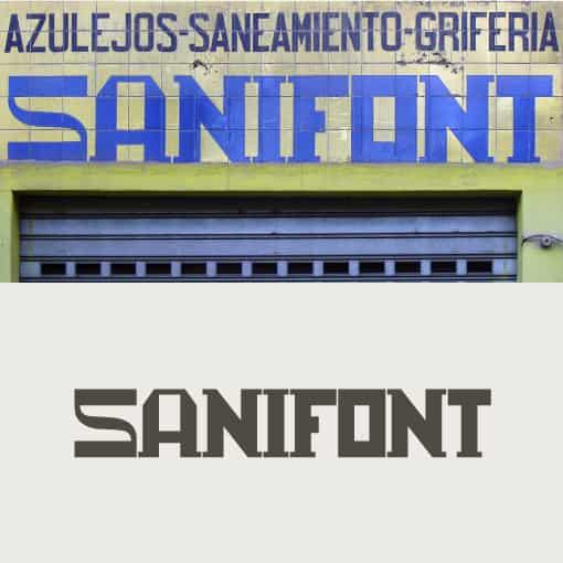 Sanifont - Letras recuperadas - Juan Navas