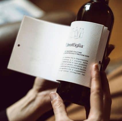 libro, librottiglia, imprenta, tormiq, barcelona, vino, original, etiqueta