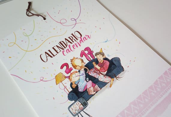 calendari, calendar, calendario, imprenta, srtaM, barcelona, print, printer, calendar