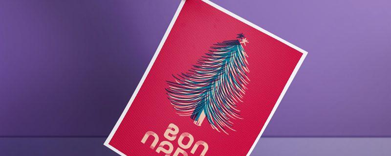 Tormiq, christma, felicitació, felicitación, poster, print, imprenta, barcelona, sarrià, st. gervasi, bon nadal, navidad.