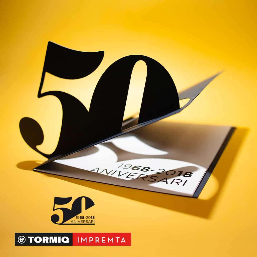 Tormiq, imprenta, impremta, 50anys, 50años, aniversario, sarrià, barcelona, impressió, impresión